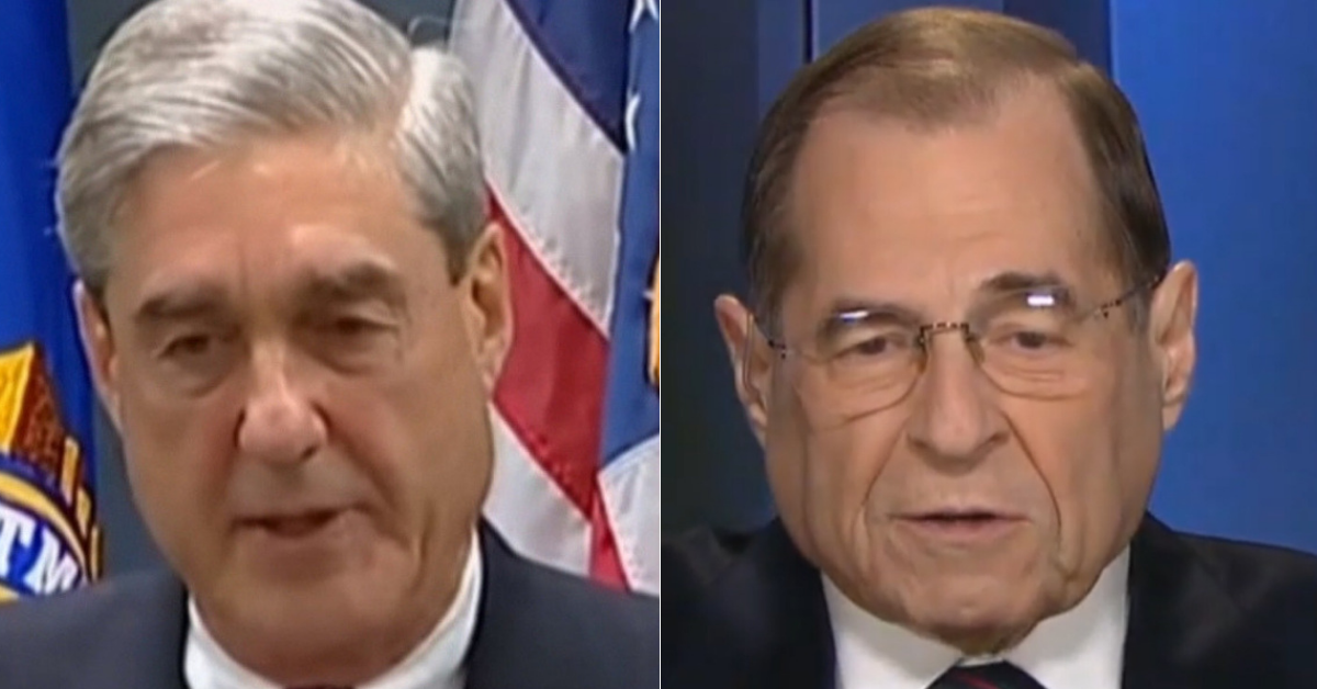 Bob Mueller Humiliates Jerry Nadler, Refuses To Join Political Stunt Against Trump